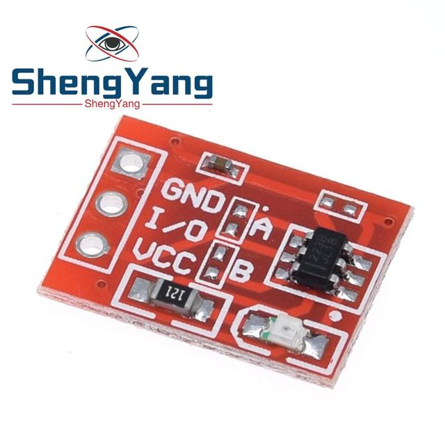 ShengYang NEW TTP223 Touch button Module Capacitor type Single Channel Self Locking Touch switch sensor