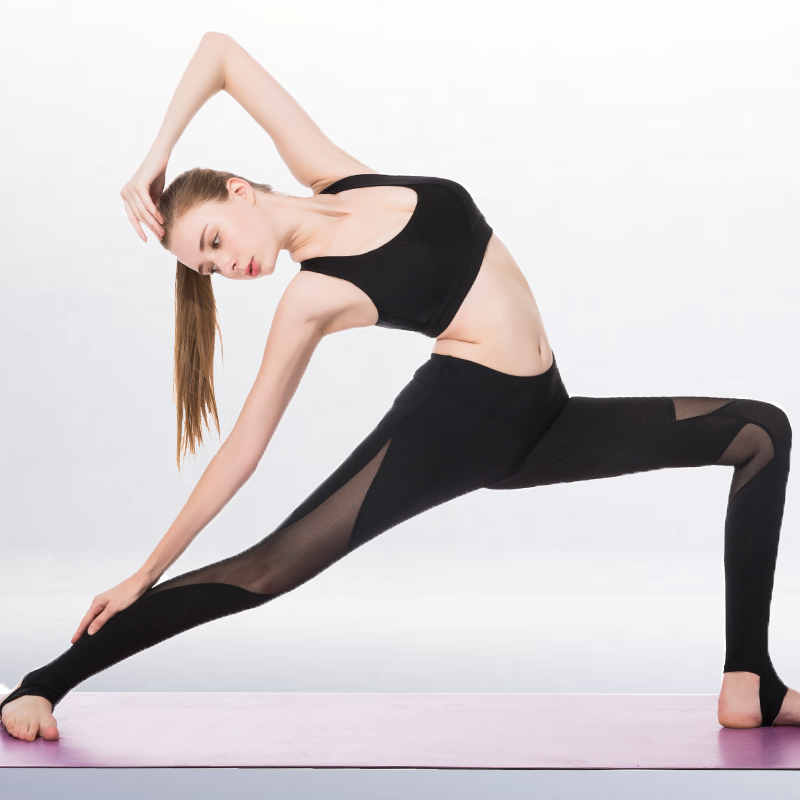 Women Yoga Sport Suit High Elastic Jogging Pants Quick Drying Running Vest & Pants Body Shaper Fitness Clothes Slim Sweat Set