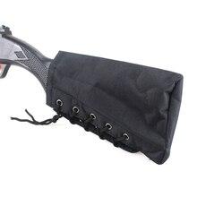 Tactical Buttstock Shell Holster  Adjustable Rifle Cheek Rest Pouch Portable Rifles Shot Gun Holder Pack