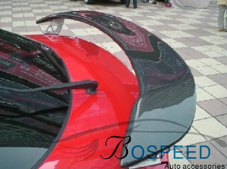 Fit for MAZDA M6 <font><b>RX8</b></font> modified carbon fiber rear <font><b>wing</b></font> with rear spoiler <font><b>wing</b></font> image