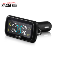 U903 Car Wireless font b TPMS b font Tire Pressure Monitoring System with 4 External Replaceable