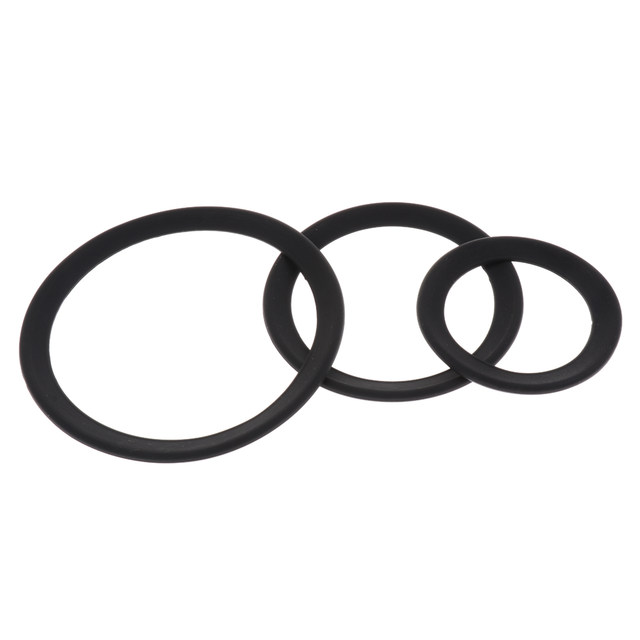 Tooyful 2Pcs Rubber Protector Saxophone Mute Ring Sax Silencer for Soprano Alto Tenor Sax Trumpet Replacement Parts