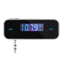 Universal Mini Wireless Transmitter 3.5mm In-car Music Audio FM Transmitter For iPhone 4 5 6 6S 7 Plus Samsung iPad Car MP3