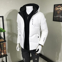 2019 Fashion Men Winter Down Jacket 90% White Duck down Men's Winter Coat Ultra thin down jacket men winter jacket men parka