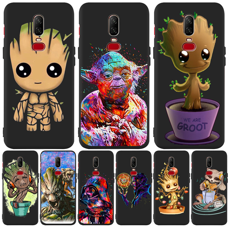 Luxury Star Wars groot Avengers Marvel For One plus 5 5T font b 7 b font