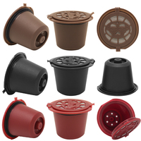 9 Pcs Pack Nespresso Refillable Coffee Capsule Use 300 Times More Reusable Capsule Refill Capsule Compatible