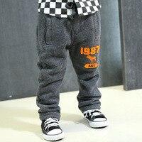 Winter Children Thick Sports Pants Boy Casual Loose Warm Pants Kid S Super Cotton 2 Colors
