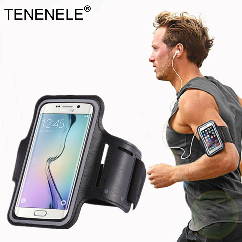 TENENELE Phone Bag For Samsung Galaxy S7 S8 Plus Wristband Case Waterproof Shockproof Phone For iPhone 7 8 Plus SE X Huawei