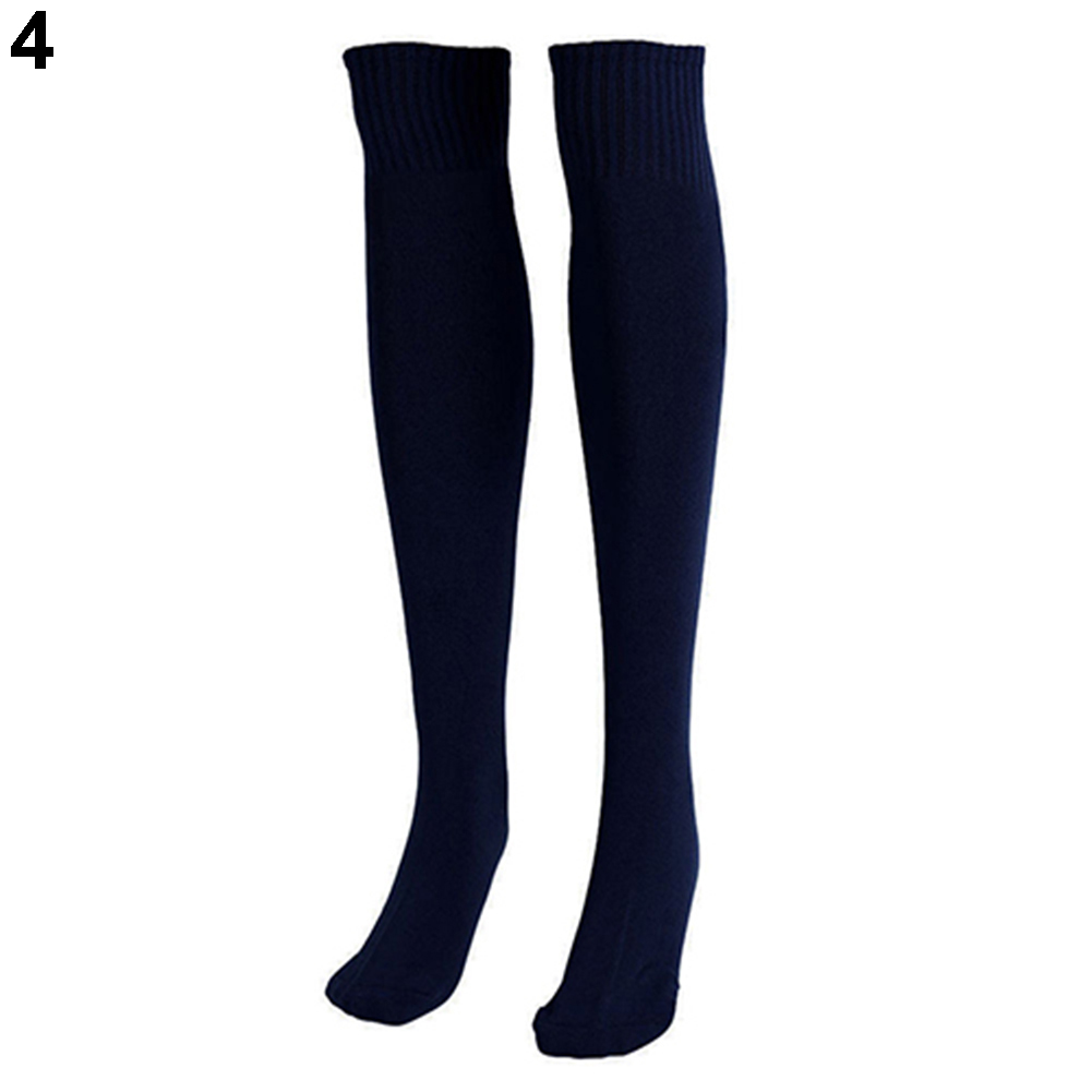 Women Boys /& Girls 3 Pack Unisex Knee High Striped Sports Football//Rugby//Soccer//Hockey Tube Socks for Men