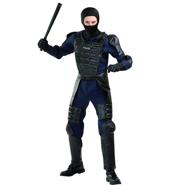 mens policeman costume american police costume adult police costume armed police cosplay halloween cosplay costume