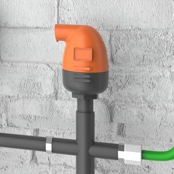 Vacuum Safety Valve Drip Irrigation Air Valve Agricultural Drip Irrigation Air Ventilation Drip 1 inch 3/4 inch drip fertigation technologies