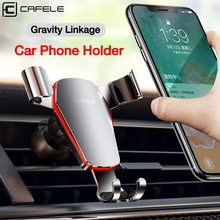 Cafele Gravity Car Phone Holder Air Vent Mount For 360 Rotation Automatic Mobile Stand Xiaomi 9 iPhone X