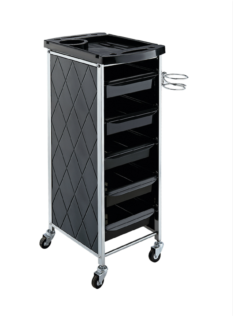 Hairdressing tool hair salon trolley a haircut tools for Salon trolley