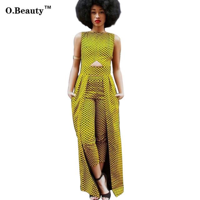 2016 Hot Sale Rompers Womens Macacão Sexy Elegante Trench Coat de Impressão Duas Peças Set Calças Compridas Bodysuit Para As Mulheres Roupas
