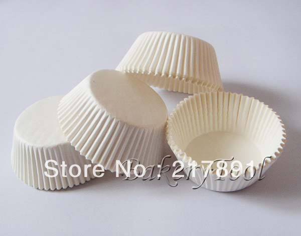 US $4 9 |White color 40gsm Grease Proof Paper Cupcake Liners, paper cups  manufacturer in China, muffin cake cases on Aliexpress com | Alibaba Group