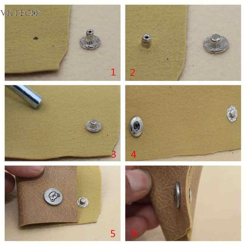 1PC cuir poinçons trou cuir outils trou oeillet Cutter bricolage outil pour cuir artisanat vêtements poinçonnage couture Kit 5 6 8 10mm