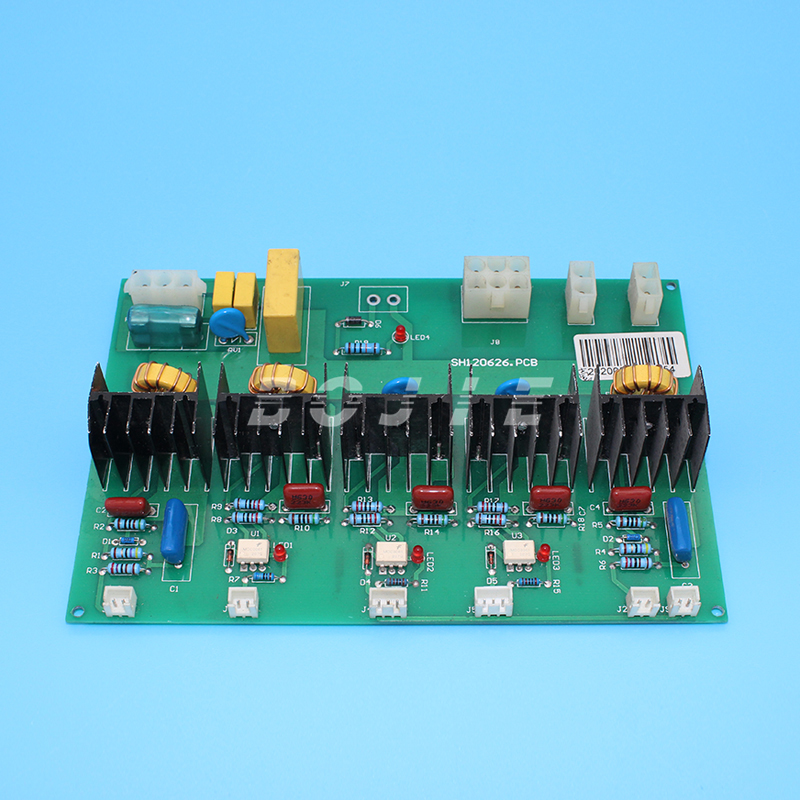 Wit color printer power supply board for star fire 1024 printhead
