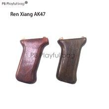 Спортивная игрушка для игр на открытом воздухе DIY RX AK47gel шариковый пистолет из цельного дерева для защиты дерева После удержания груши карфама набор из четырех частей прямой LD62