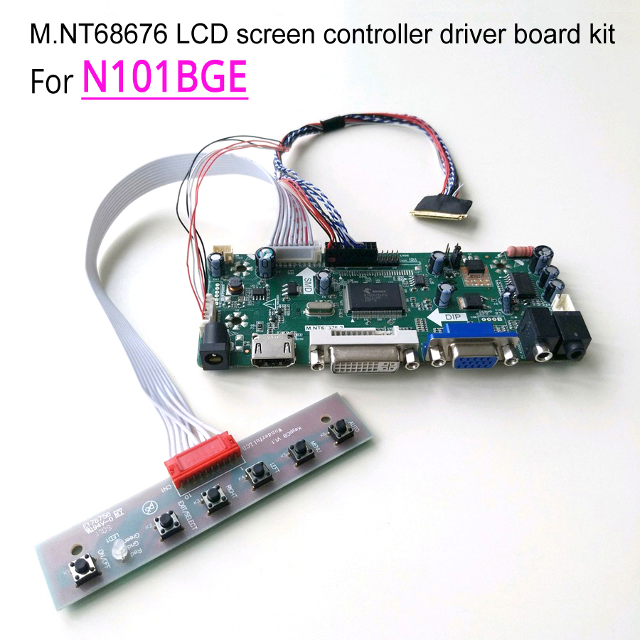 M NT68676 display controller driver motherboards assembly kit for N101BGE 10 1 1366 768 WLED LVDS
