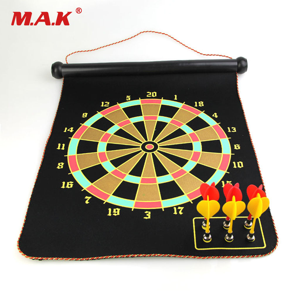 High Quality 12 15 17 Inches Magnetic Dart Board Darts Suit Double 14 Inch Viviration Computer Accessories New 7 10 13