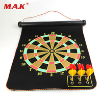 High Quality 12 15 17 Inches Magnetic Dart Board Darts Suit Double Sided Darts Plate Of