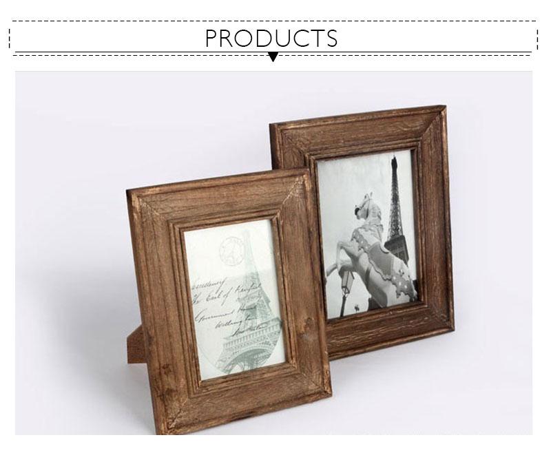 ᐂDIY madera de la vendimia Marcos retro pantalla pintura foto ...