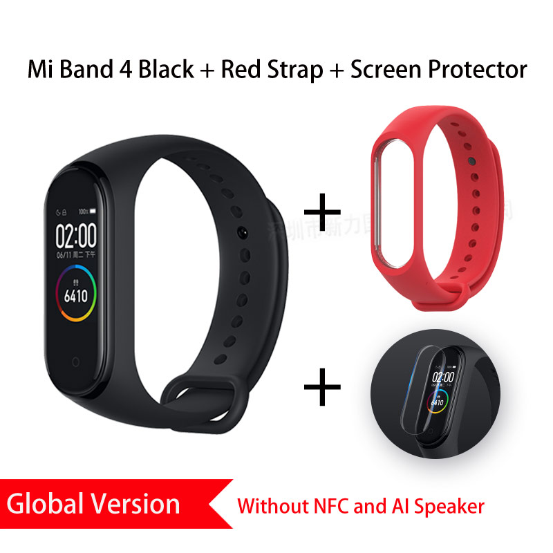 Image 5 - Global Version Xiaomi Mi Band 4 Smart Wristbands Miband 4 Bracelet Heart Rate Fitness 135mAh Color Bluetooth 5.0 Chinese Version-in Smart Wristbands from Consumer Electronics