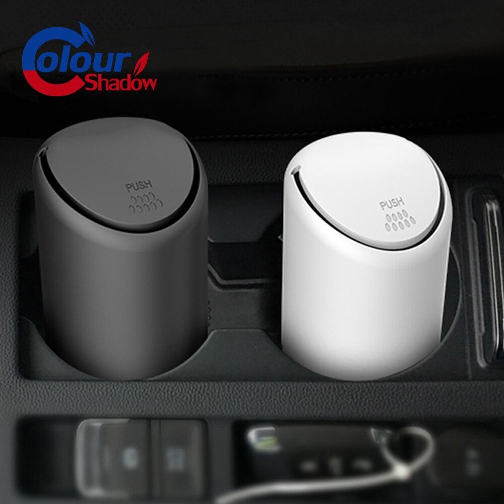 Storage-Box Bucket-Accessories Car-Trash-Bin Gargage-Holder Rubbish Auto-Organizer Universal