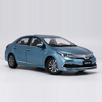1:18 Alloy Pull Back Toy TOYOTA COROLLA Car Model Of Children's Toy Cars Original Authorized Authentic Kids Toys