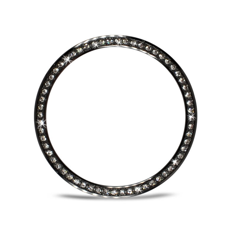 New Arrival Steel Bezel for Samsung Galaxy Watch 46mm/42mm Diamond Ring Adhesive Cover Anti Scratch Protector Frame(China)