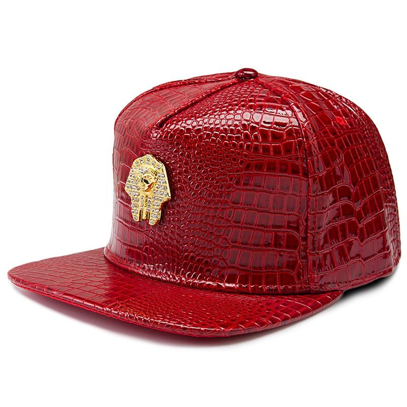 2017 Neue Hohe Qualität Mode Letzte Könige Lk Hiphop Voll Pu Kappe Rock Rapper Männer Frauen Hüte Skateboard Baseball Streetwear Knochen Lassen Sie Unsere Waren In Die Welt Gehen
