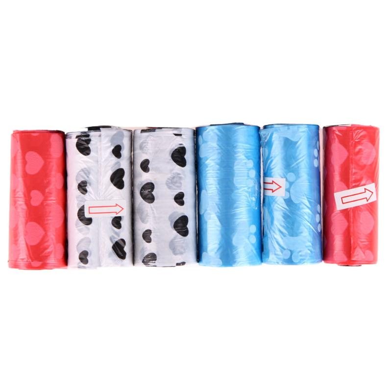 6 rolls of Biodegradable Dog Poop Bag 1