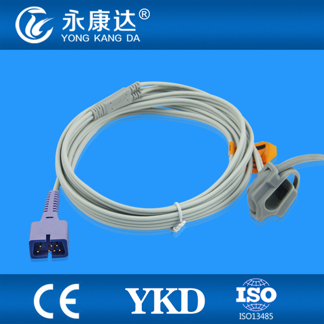 Reusable spo2 sensor for neonate wrap ,  7pin/3m