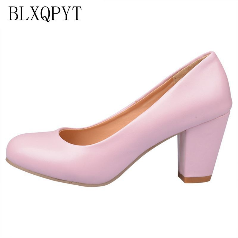 Hot Sale Zapatos Mujer Tacon Big Size 34-43 4 Colour New Spring Autumn Women's Pumps Women Shoes High Heels Pu Party 222-1 memunia spring autumn hot sale genuine