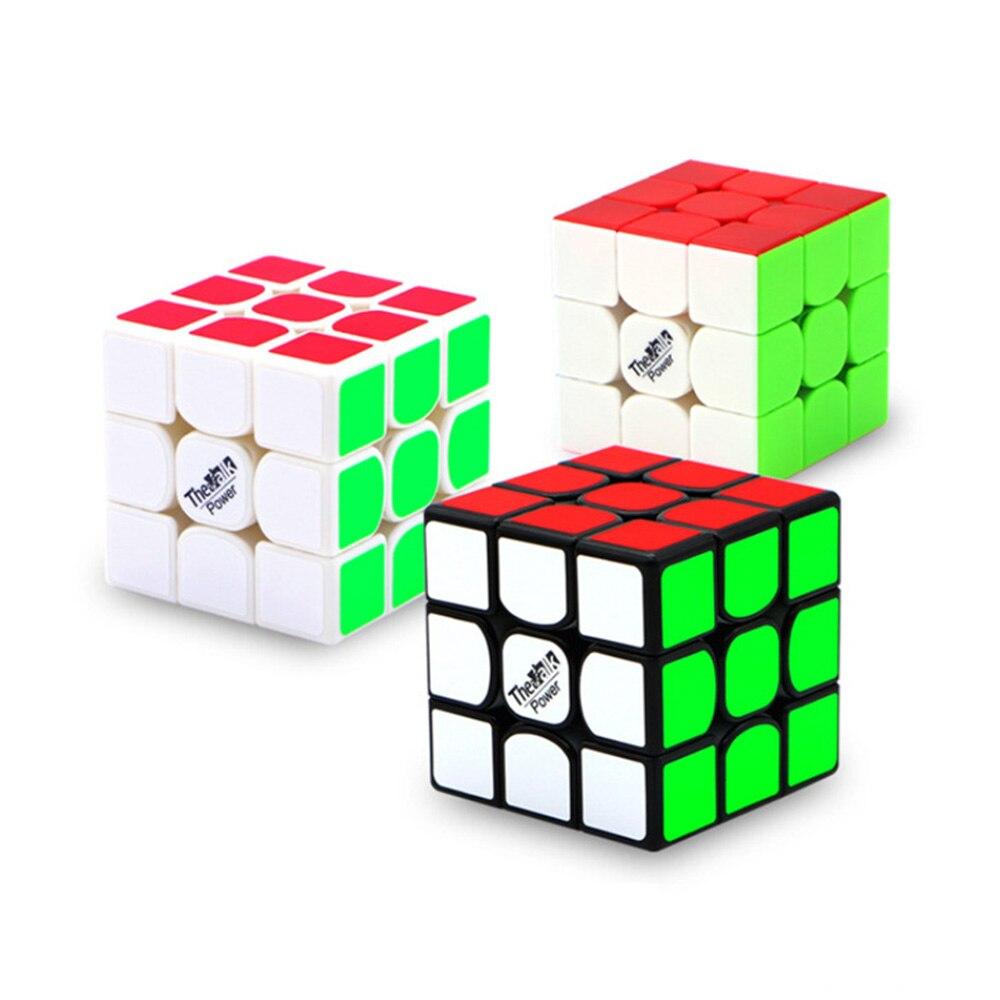 Le Valk 3 Puissance M 2nd génération Magnétique 3*3*3 Cubes Magiques Casse-Tête Cube de Vitesse Jouets Éducatifs cadeaux pour Enfants Enfants