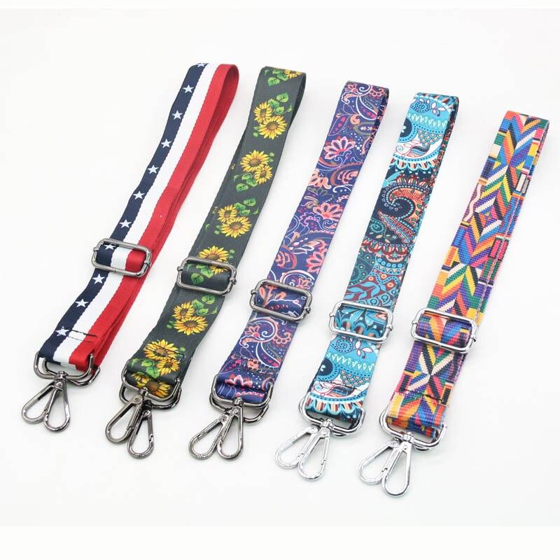 YISHEN Colorful Style Women Bag Shoulder Strap Fashion Shoulder Strap Handbags CrossBody Messenger Bag Strap Belt For Female 30%