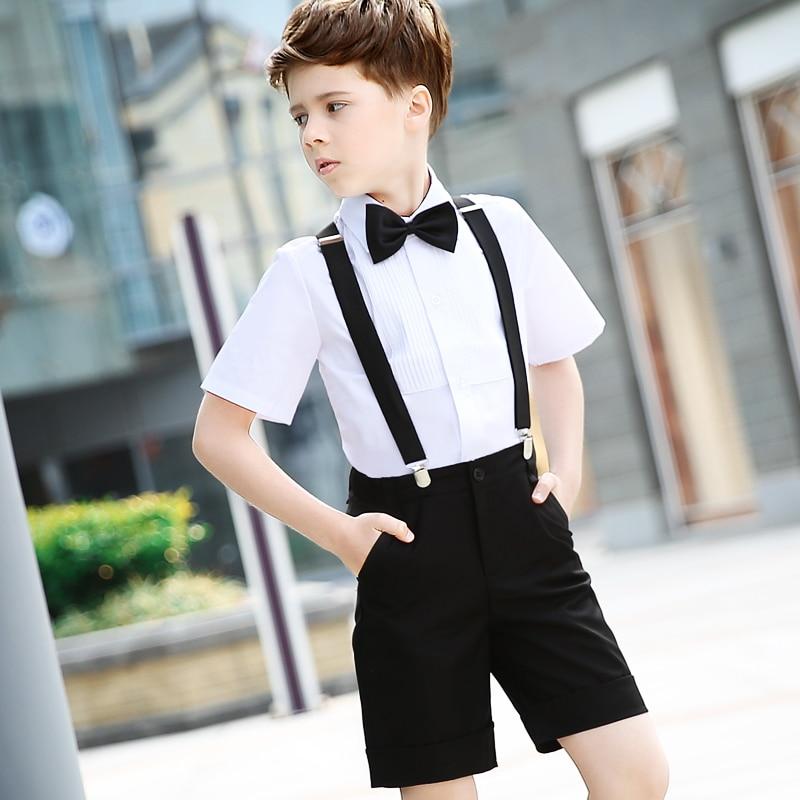 d45989d97 Children's Dresses Children's Performance Shorts Shorts Tie Set Students  Chorus Dresses Boy Dresses 2pcs / sets-in Clothing Sets from Mother & Kids  on ...