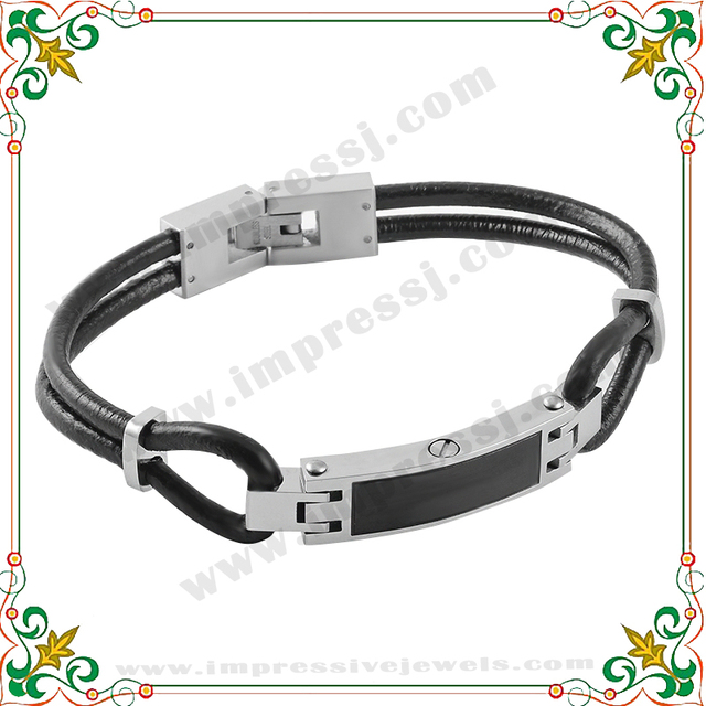 CMB5030 Hot Cremation Urn Genuine Leather Bracelet for Ashes