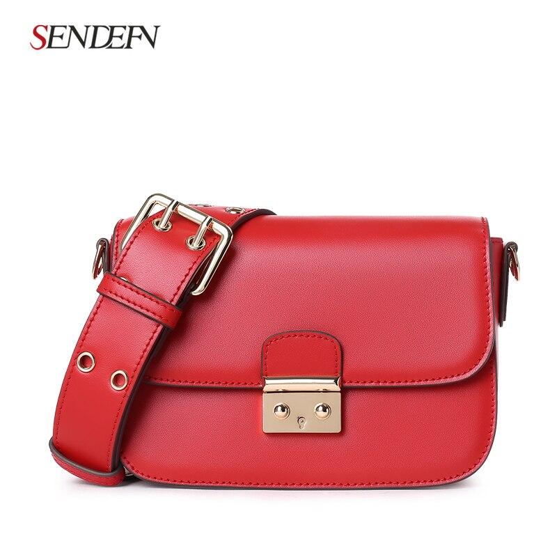 New Small Crossbody Bag Casual Shoulder Bags Women Small Fashion Split Leather Messenger Bags Ladies Fashion Handbag Women Chain