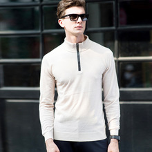 2017 men cashmere wool sweater blended pullover mens sweaters male roundneck knitted sweater pullovers wool plus size solid