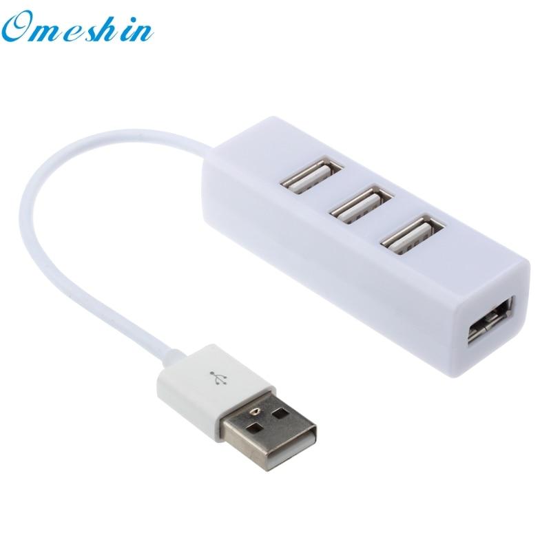 4 portos Splitter Hub adapter Mini USB 2.0 Hi-Speed Adapter PC - Számítógép-perifériák - Fénykép 4