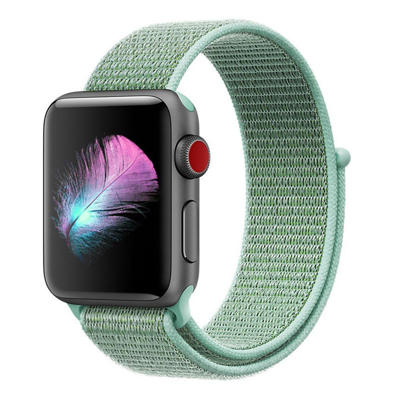 ea288ee1104 ASHEI Wrist Strap For Apple Watch 4 Band 44MM 40MM Nylon Series 1 2 3 Sport  Loop Adjustable Closure Strap for iwatch 38mm 42mm