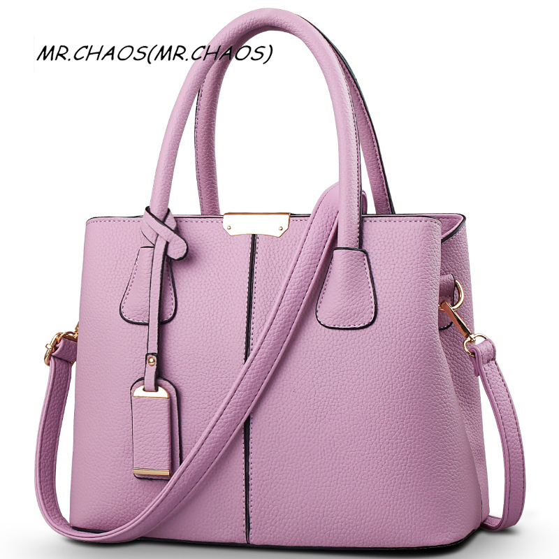 Hot Sale bolso mujer New Fashion Big Bag Women Shoulder Messenger Bag Ladies Handbag free shipping big bags for women 2017