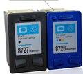 Бесплатная доставка для HP 27 28 C8727A C8728A чернильный картридж для HP Deskjet 3320/3323/3325/3420/3535/3550/3650 струйный принтер
