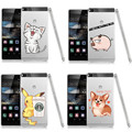 Симпатичные Гадкий я Желтый Миньон Сердитый кот Корги собака Телефон Случаях Для Sony Xperia Z1 Z2 Z3 Z4 Z5 Для Huawei P8 P8 Lite P9 P9Lite