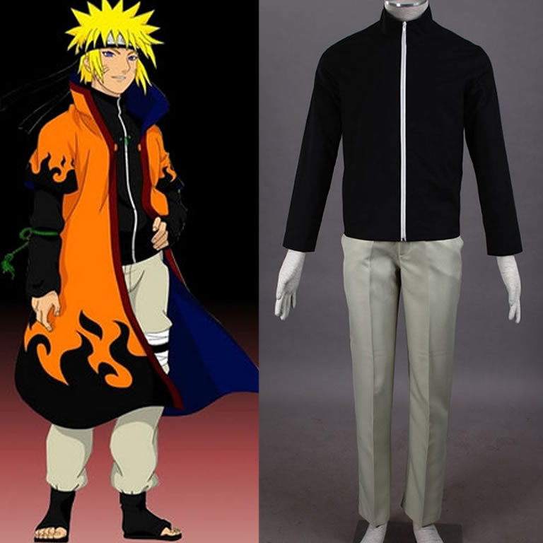 Naruto Uzumaki Cosplay costume Anime Halloween Costumes/Suits