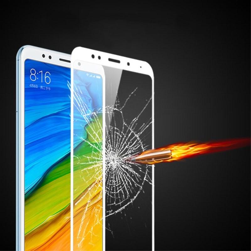 Xiaomi redmi 5 plus glass AGREAL redmi5 screen protector full cover front white black protect film xiaomi redmi 5 tempered glass (5)