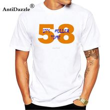 Antidazzle BRONCOS 2016 CHAMPIONS 58 - Von Miller Mens   Womens casual  cotton T Shirts Cool 0965ca936