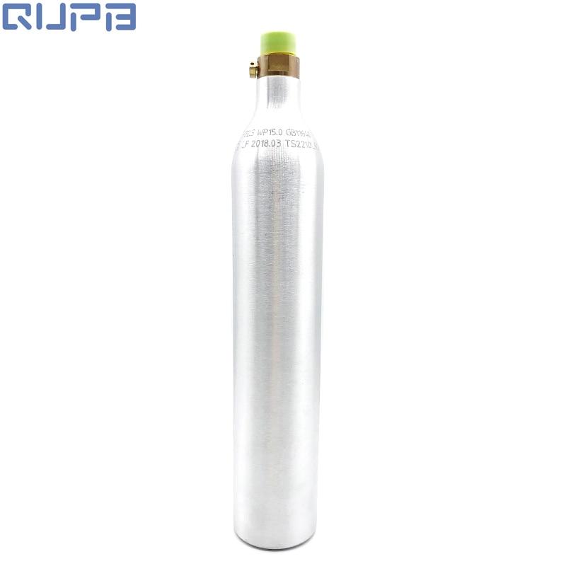 NEW Soda Stream Bottle CO2 Cylinder 15MPA/150BAR/2250PSI Silver TKSD06