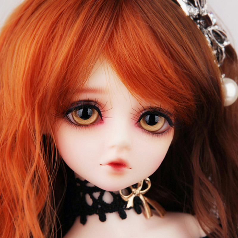 1/4 BJD doll BJD/SD Fashion Salgoos Doll Resin Doll With Free Eyes For Baby Girl Gift Present цена